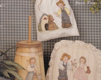 Decorative Fabric Painting Patterns - Decorative Painting Patterns - Patticakes Book 2 Decorative Painting - Fabric and Wood Painting Book