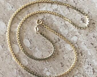 "14k 16-1/4"" gold chain (j-038)"
