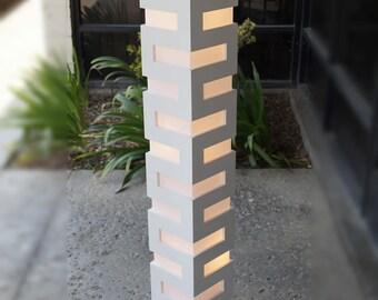 New white Modern Contemporary Floor lamp ZK008L Decor Design lighting for Living Family room Bedroom