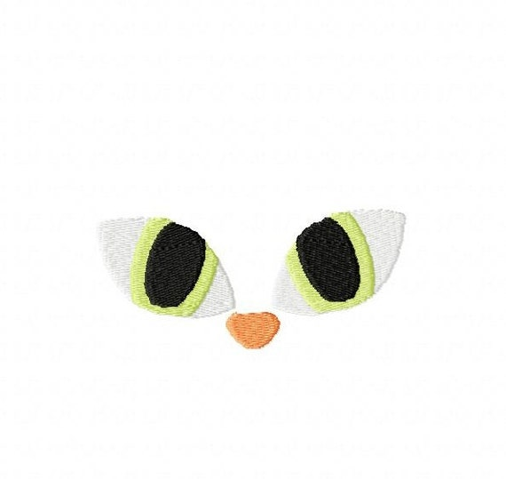 Cats Eyes Machine Embroidery Design File By Cutencooldesigns
