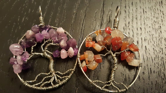 Custom Wire-Wrapped Tree of Life Pendant