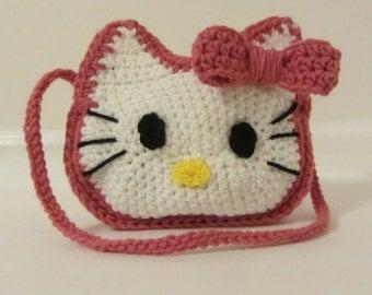 Crochet Hello Kitty Bag/Made to Order