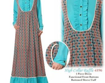 Maternity Maxi Dress | Abaya Maxi Dress | Long Sleeves Maxi Dress | Loose Dress Boho | Baby Shower Dress | Maternity Dress Long Sleeve 4896