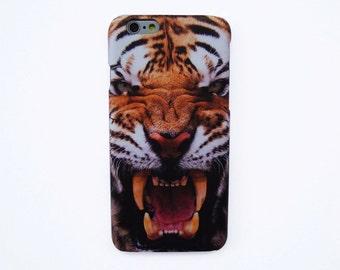 Tiger roar iPhone 7+ phone case Tiger iPhone 6S plus cover Tiger iPhone 5S case Tiger iPhone 6S+ case iPhone SE Animal Phone case
