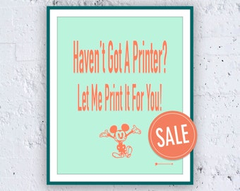 ON SALE: PRINT-Service - High Quality Ink on High Quality Fine Art Paper!