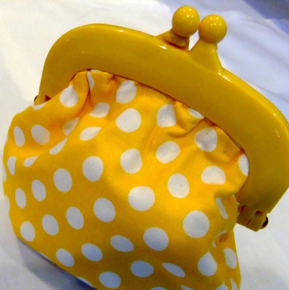 Handcrafted Jelly Clip Purse