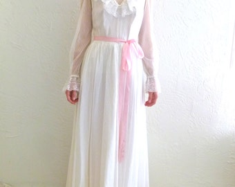 1960s Little Bo Peep Dress - Peasent Dress