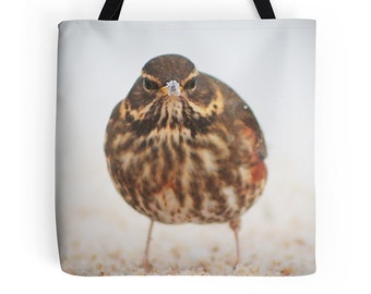 Women's bag, women's tote, bird bag, bird tote, arty bag, teenage girl gift, birthday gift, shopping bag, reusable grocery bag, book tote