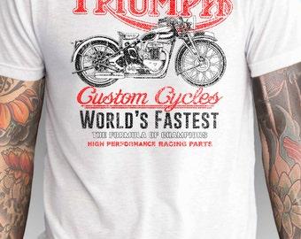 indian motorcycle t-shirt real men ride indian motorcycles