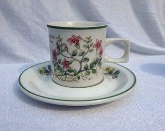 Wedgwood Florabunda China Cups And Saucers Vintage Flowers Set Wedgwood China High Tea Set Tea Party Set
