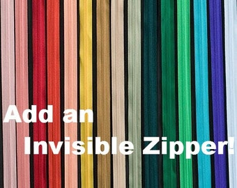 Invisible Zipper Add On