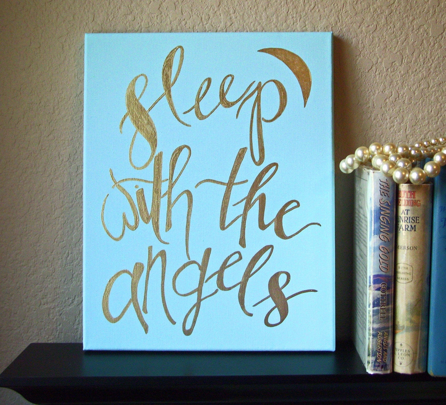 Sleep With The Angels Sign Angel Sign Angel Quote Nursery