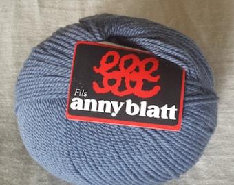 Fils Anny Blatt Cachemir Anny Color Veloute 612 Steel Blue Wool/Cachemire