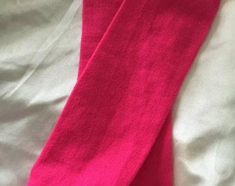 Lil' Leg Warmers Hot Pink