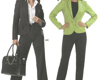 Burda sewing pattern - mod jacket and pants - Size 8-10-12-14-16-18