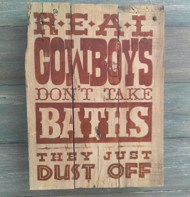 Western Bathroom Decor Cowboy Bathroom Decor By OnALimbCreations