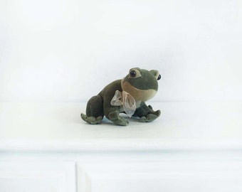 1940's Vintage Plush Frog Children's Toy