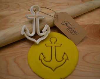 Anchor Cookie Cutter - 3D Printed Cookie Cutter