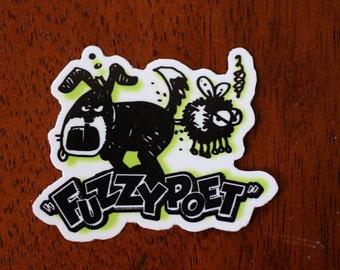 Glossy Coated Vinyl Sticker