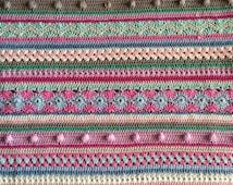 Crochet bedspread-Crochet Along 2014