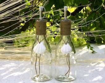 Maritime Vinegar and Oil Bottles