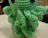 Cthulu the Mythos - Crochet - Any Color Made To Order