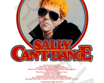 Tshirt - Lou Reed: Sally Can't Dance (1974)