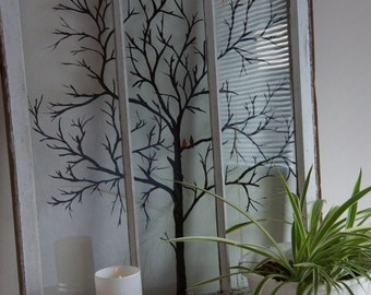 Window Painting - Tree - Made to Order - Silhouette