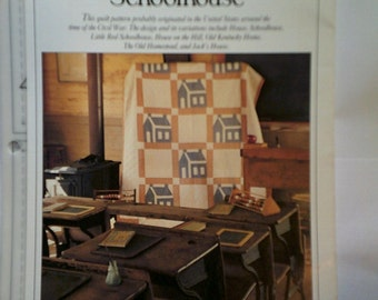 Schoolhouse Best Loved Quilt Pattern Oxmoor House