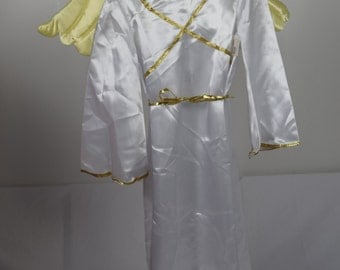 Childs Angel Costume with Wings