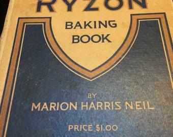 Ryzon Baking Book - Vintage