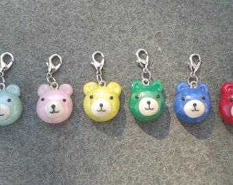 Polymer Clay Bear Charms
