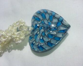 Heart Necklace Crocheted - Claudia'sCrochet