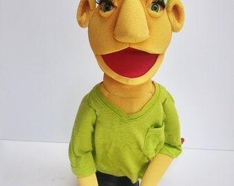 Green Hair Puppet