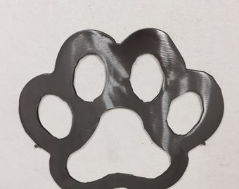 Dog Paw metal wall art Home Decoration Puppy Pet Animal garden Skilwerx