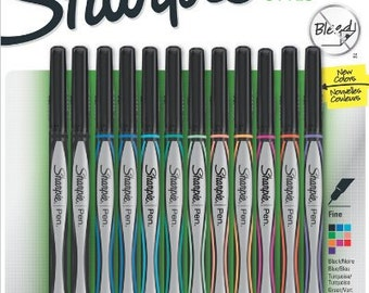 Sharpie Art Etsy: sharpie calligraphy pen