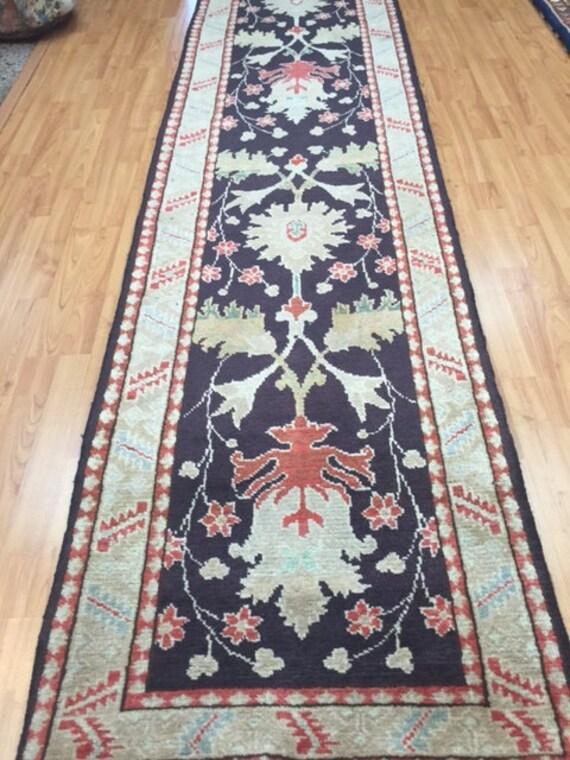 "2'5"" x 9'7"" Persian Heriz Runner Oriental Rug - Hand Made - 100% Wool"
