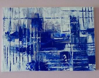 Painting Contemporary Abstract Art Modern Wall Canvas Original Decor Textured Acrylic