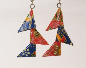 Triangle origami