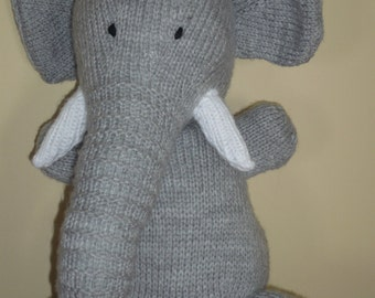 Hand Knitted large Kipper the Dog Soft Toy ALL by Jules4CF on Etsy