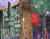 The Witch, large art print by Johanna Öst