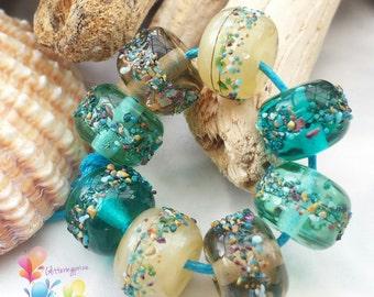 Lampwork Beads Marine Life