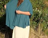 Organic Dupatta Shawl ( light hemp and organic cotton knit )