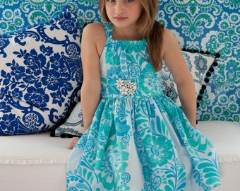 Sis Boom Marissa Dress with Scientific Seamstress Pattern and Instructions, PDF E-Book