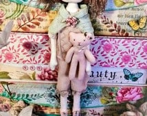 cloth doll / sewing pattern / instant download / pdf