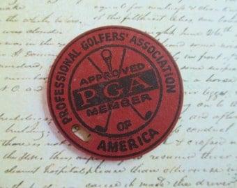 SALE Vintage PGA Professional Golfer's Association Approved Member Fob - Tiffin Ohio