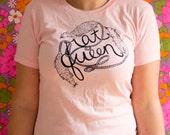 Pink Rat Queen T-Shirt Womens Sizes S,M,L,XL