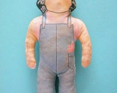 Vintage Rosie the Riveter Stuffed Doll Reversible Two Sided Dolly