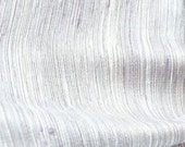 Vintage Old New Stock Raw Silk Fabric Pale Lavender Shot with White Threads