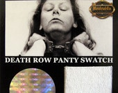 Aileen Wuornos ( The Damsel of Death ) - prison worn panties - Museum RELIC Collector Card ( Limited )